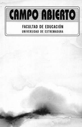 CAMPO ABIERTO REVISTA DE EDUCACIÓN V 16 N 1